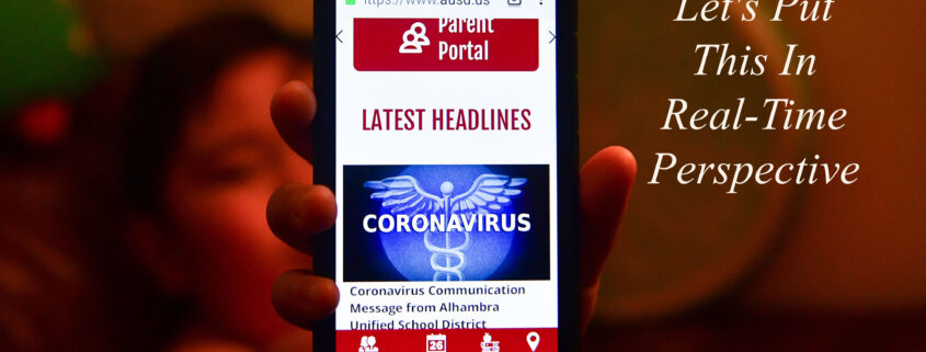 Real-Time Perspective On CoronaVIrus